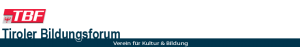 Tiroler Bildungsforum TBF Logo