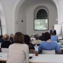 Martin Stuerzlinger giving a talk on long-term preservation